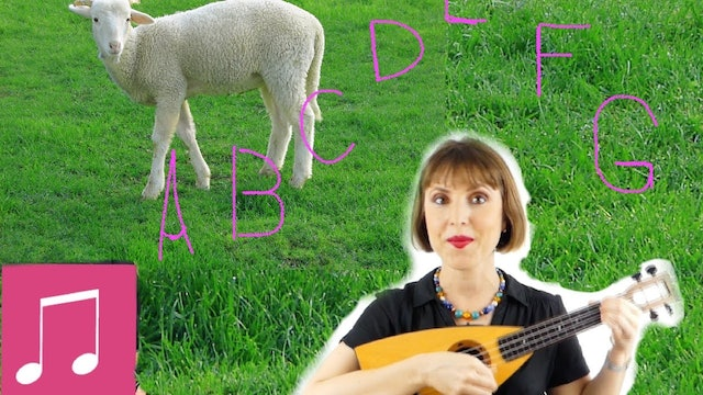 The ABCs to Mary Had a Little Lamb by Alina Celeste - Learn English