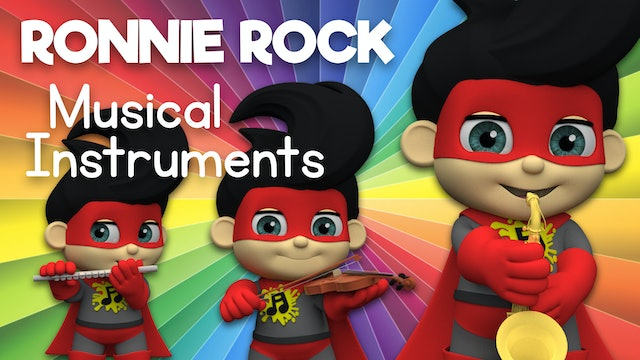 Learn about Musical Instruments with Ronnie Rock