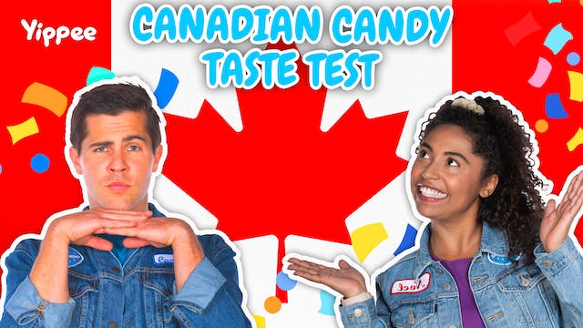 Canadian Candy TASTE TEST!