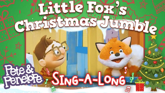 Little Fox's Christmas Song Jumble