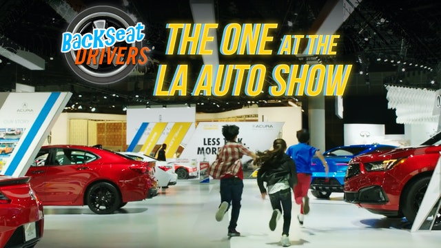 The One at the LA Auto Show