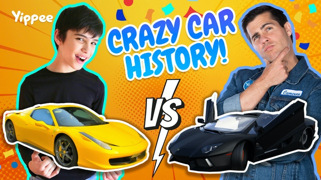 CRAZY CAR FACTS with Professor Sean