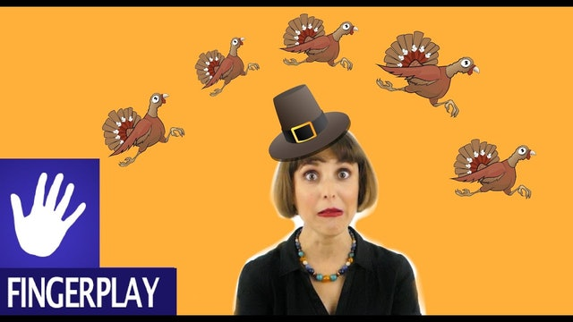 Thanksgiving Songs for Kids - Five Little Turkeys by Alina Celeste