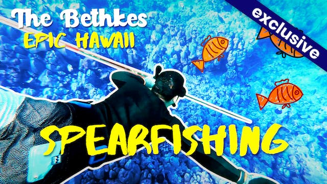 The Bethkes #3 - Spearfishing!