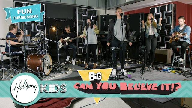 What A Beautiful Name | Hillsong Kids Live from Studio (Music Video)