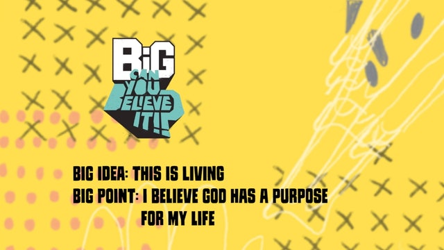 CAN YOU BELIEVE IT?!  | Big Message Toddler Episode 3.1 | This Is Living