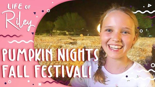 Pumpkin Nights Fall Festival!
