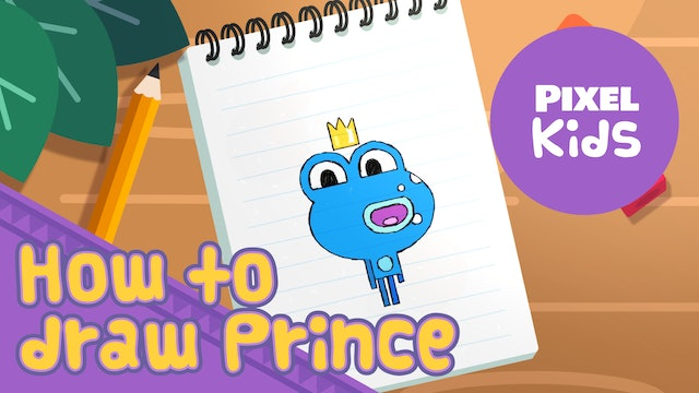 Draw with Rhino | Draw Prince - Learn to Draw for Kids