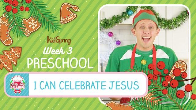 Holly Jolly Kitchen | Preschool Week 3 | I Can Talk to God
