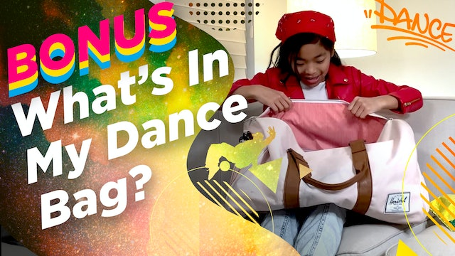 Kira's Daily Dance Moves: What's In My Dance Bag?