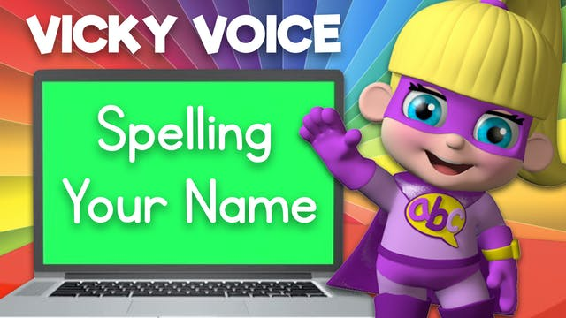 Learn about Spelling Your Name with V...