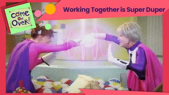 Working Together Is Super Duper
