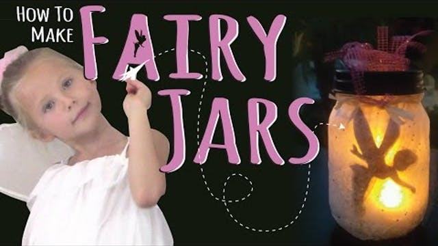 How to Make DIY Fairy Jars | Night Li...