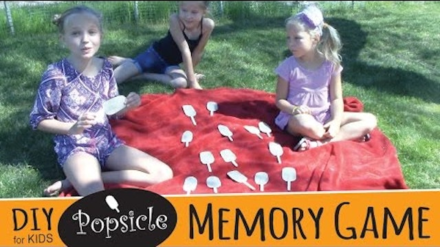 How to Make a Popsicle Memory Game | DIY Popsicle Stick Craft for Kids