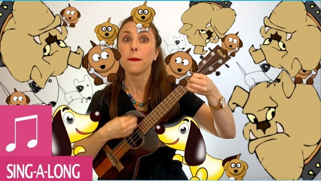 Kids Songs BINGO by Alina Celeste Silly Dogs Barking and Learn English!