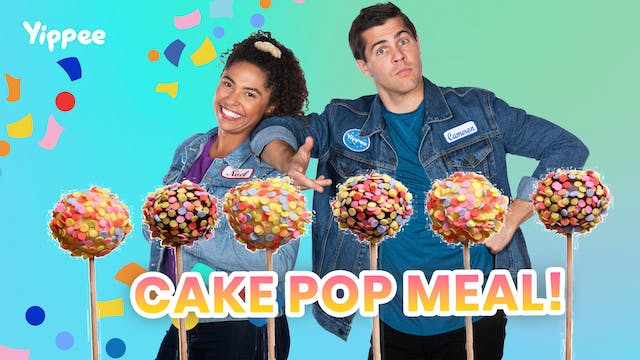 Three Course Cake Pop Meal!