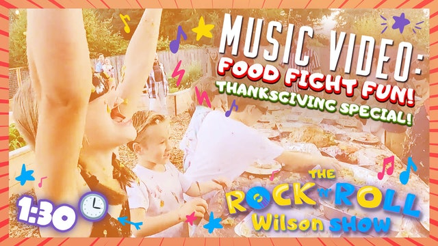 Food Fight Fun - Music Video