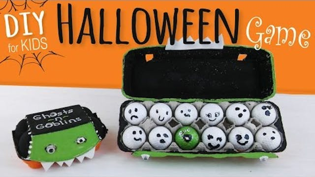 Halloween Party Game for Kids | Egg C...