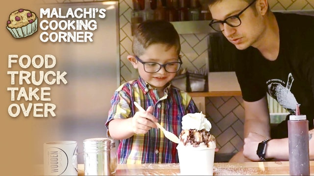 Malachi's Cooking Corner takes over the Wooden Spoon