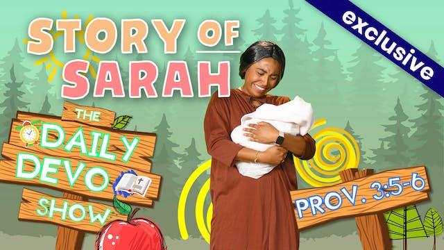 #9 Trust - Story of Sarah