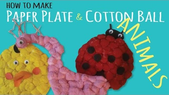 How to Make Fluffy Paper Plate Animal...
