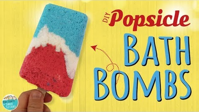 Easy DIY Popsicle Bath Bombs  | Summer Crafts | Kids Crafts by Three Sisters
