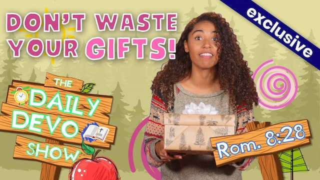 #32 Purpose - Don't Waste Your Gifts