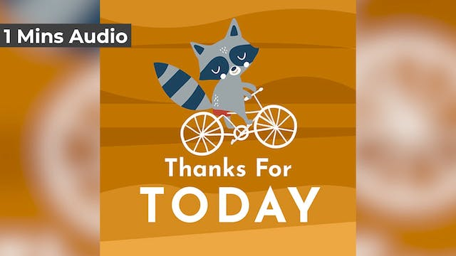 Thank You For Today (Audio)