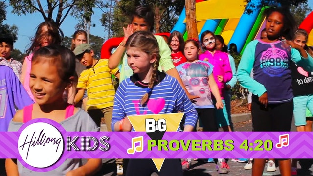 HEART | Big Word Proverbs 4:20 (Actions & Music Video)