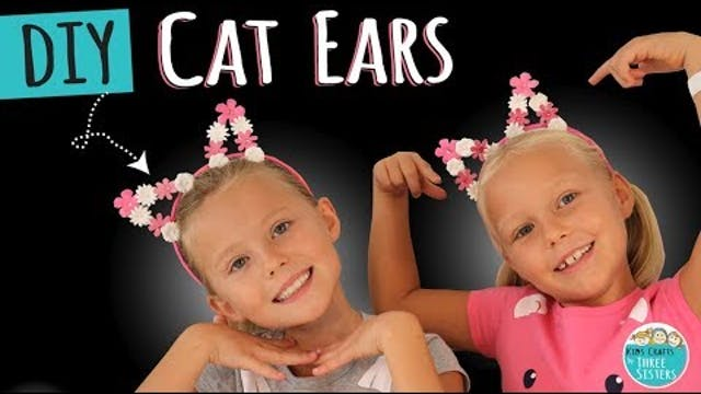 How to Make DIY Cat Ears using Scrapb...