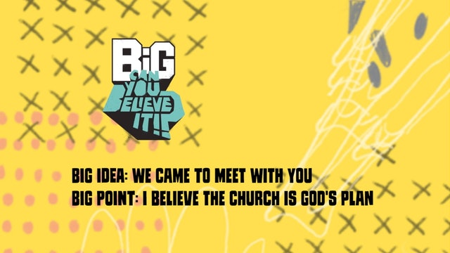 CAN YOU BELIEVE IT?!  | Big Message Toddler Episode 3.2 | We Came To MeetWithYou
