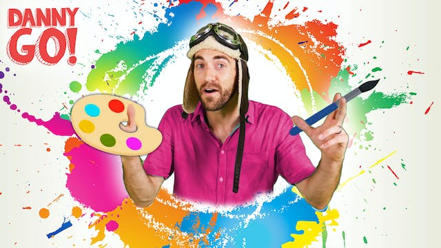Kid's Painting Ideas w/ Danny Go!