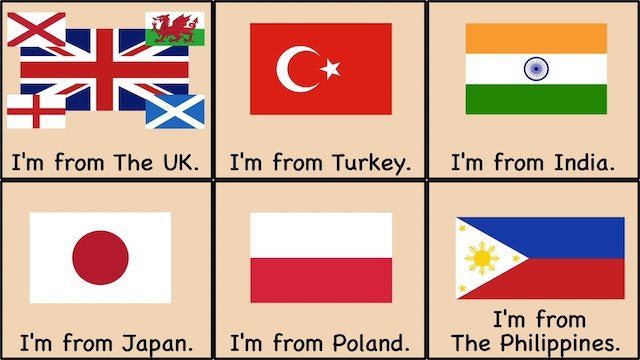Countries Song Where Are You From
