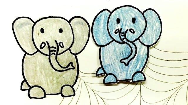 Los Elefantes by Alina Celeste - Kids...