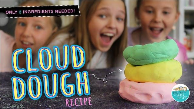 How to Make DIY Cloud Dough with 3 In...