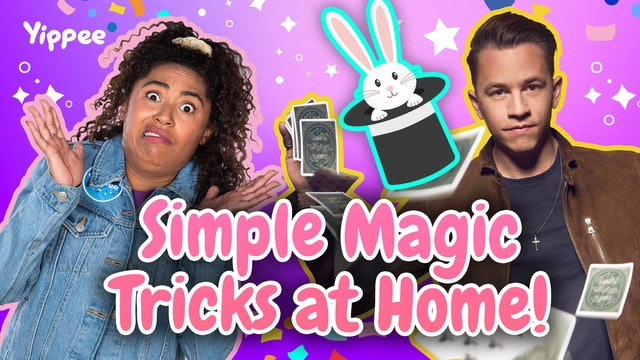 Simple MAGIC TRICKS to learn AT HOME!