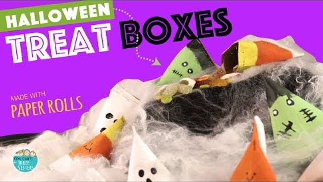 DIY Easy Halloween Treat Boxes from P...