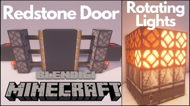 3 Simple Redstone Builds