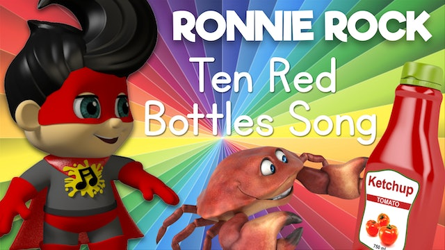 Learn to Sing the 10 Red Bottles Song with Ronnie Rock