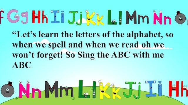 ABC Alphabet Song / Acoustic Children's ABC Song