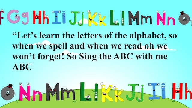 ABC Alphabet Song / Acoustic Children...