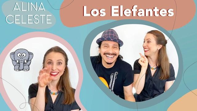 Kids Songs in Spanish - Los Elefantes by Alina Celeste and Mi Amigo Hamlet
