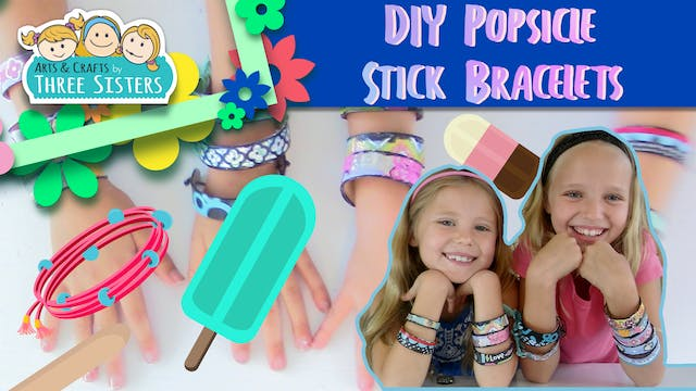 How to Make Popsicle Stick Bracelets