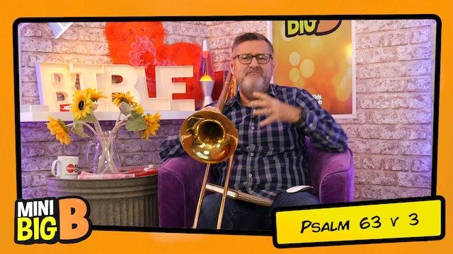 Bible Devotions | Psalm 63v3