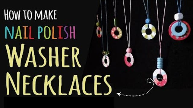How to Make Washer Necklaces | DIY Je...