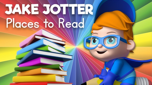 Learn about Fun Places to Read with Jake Jotter