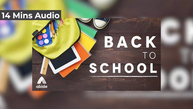 Back to School With Courage (Audio)