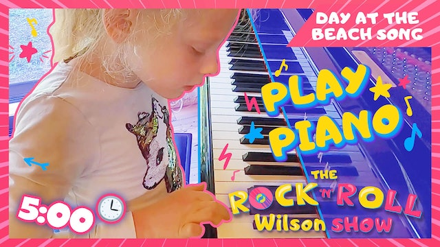 Learn to Play Day at The Beach - Piano