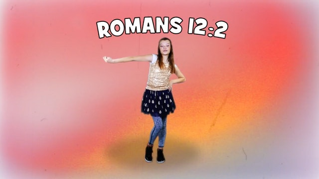 HEAD | Big Word Romans 12:2 (Actions & Music Video)