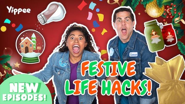 Testing Festive Viral Life Hacks!